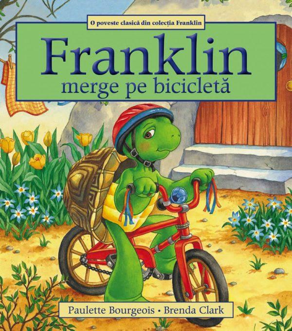 Franklin merge pe bicicletă