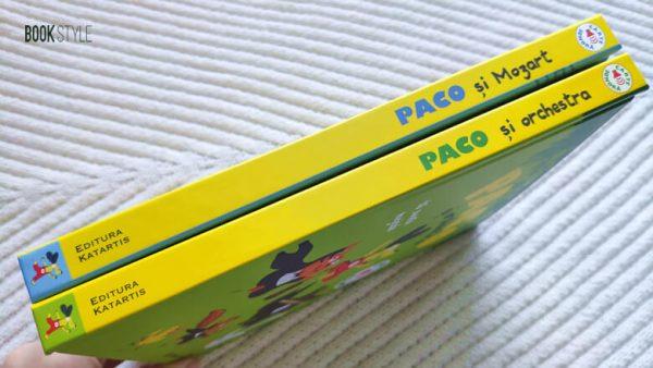 Carte sonoră din seria Paco, de Magali Le Huche