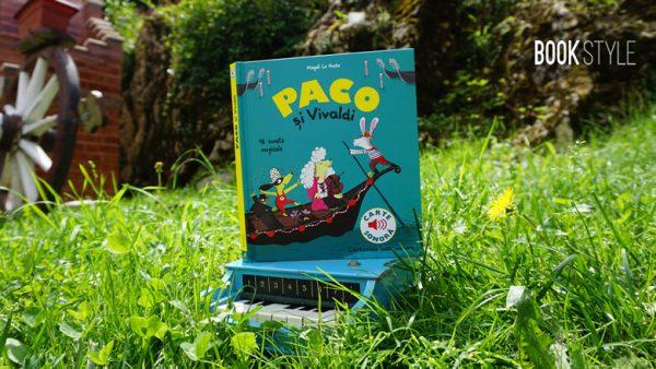 Paco și Vivaldi – Seria muzicală Paco – Editura Katartis