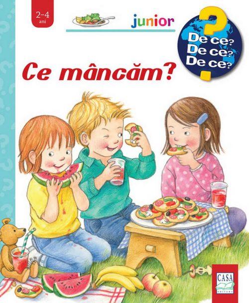 Ce mâncăm?, de Doris Rübel – Colecția Junior (2-4 ani) - carte cu ferestre | Editura Casa