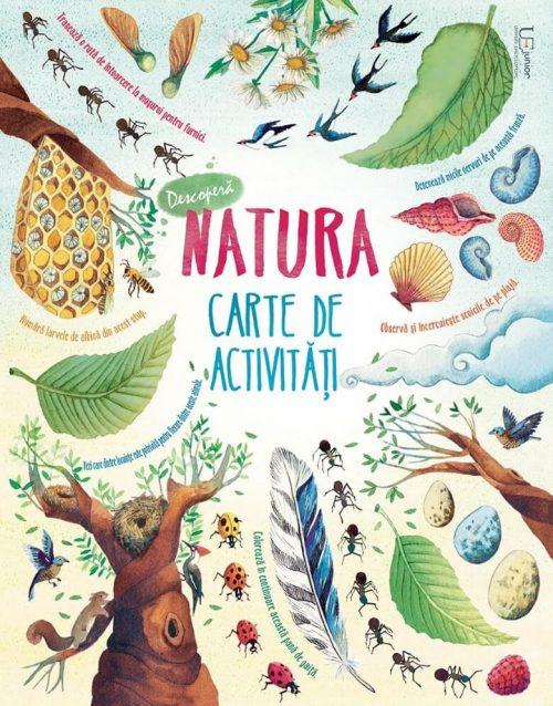 Descoperă natura. Carte de activități - Usborne - Univers Enciclopedic