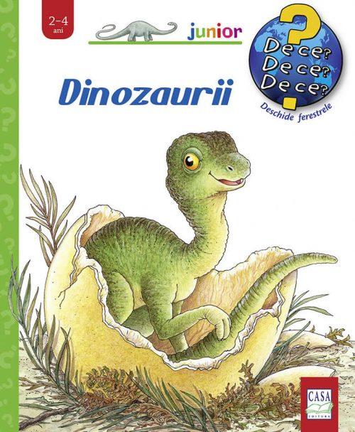 Dinozaurii, de Angela Weinhold - carte cu ferestre - | Editura Casa