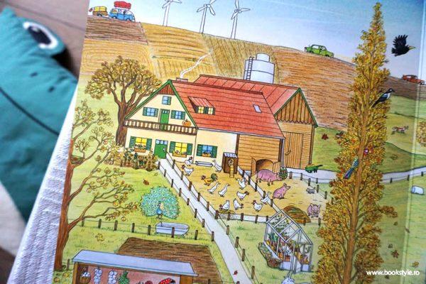 Hoinari prin anotimpuri – Toamna, de Rotraut Susanne Berner – Editura Casa – Carte de cautare