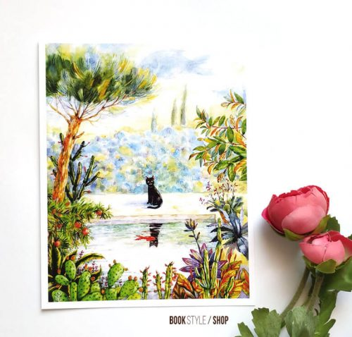 ilustratie-pisica-aliona-bereghici-carte-postala