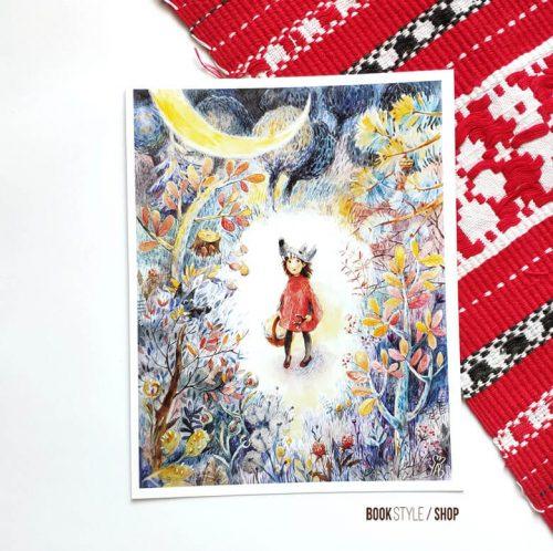 ilustratie-scufita-rosie-carte-postala-aliona-bereghici