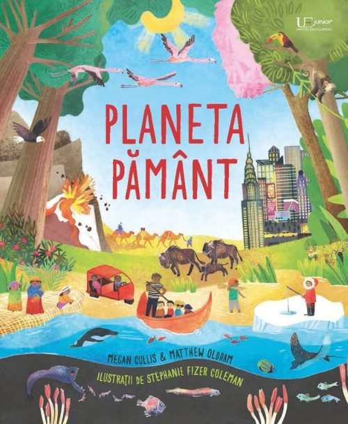 Planeta Pământ - Usborne - Editura Univers Enciclopedic