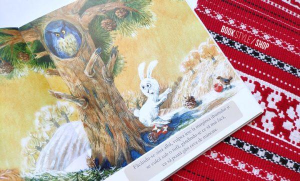 Ursul păcălit de vulpe, de Ion Creangă și cu ilustrații de Aliona Bereghici – disponibilă în România pe bookstyle.ro