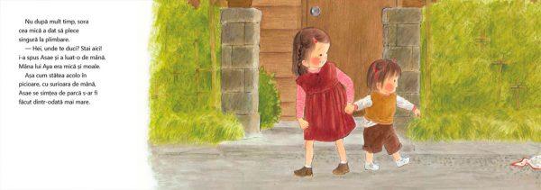 Asae și sora ei cea mică, de Yoriko Tsutsui și Akiko Hayashi – Editura Cartea Copiilor
