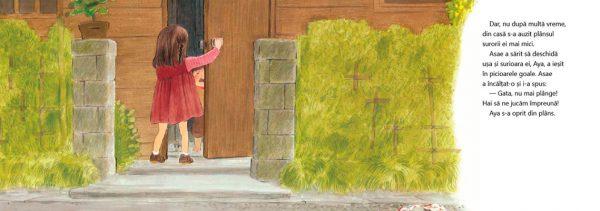 Asae și sora ei cea mică, de Yoriko Tsutsui și Akiko Hayashi – Editura Cartea Copiilorv