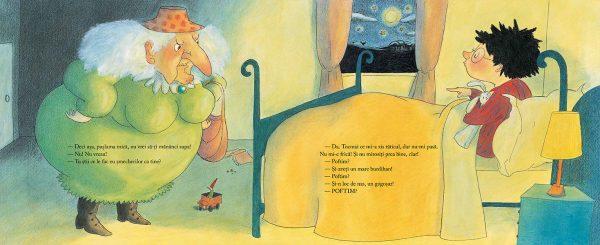 Baba-Cloanța-Cotoroanța de Pierre Bertrand, cu ilustrații de Magali Bonniol – Editura Cartea Copiilor