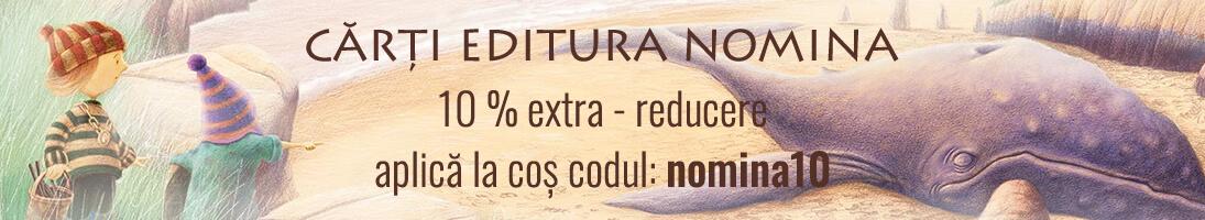 Cod voucher - promo carti editura nomina