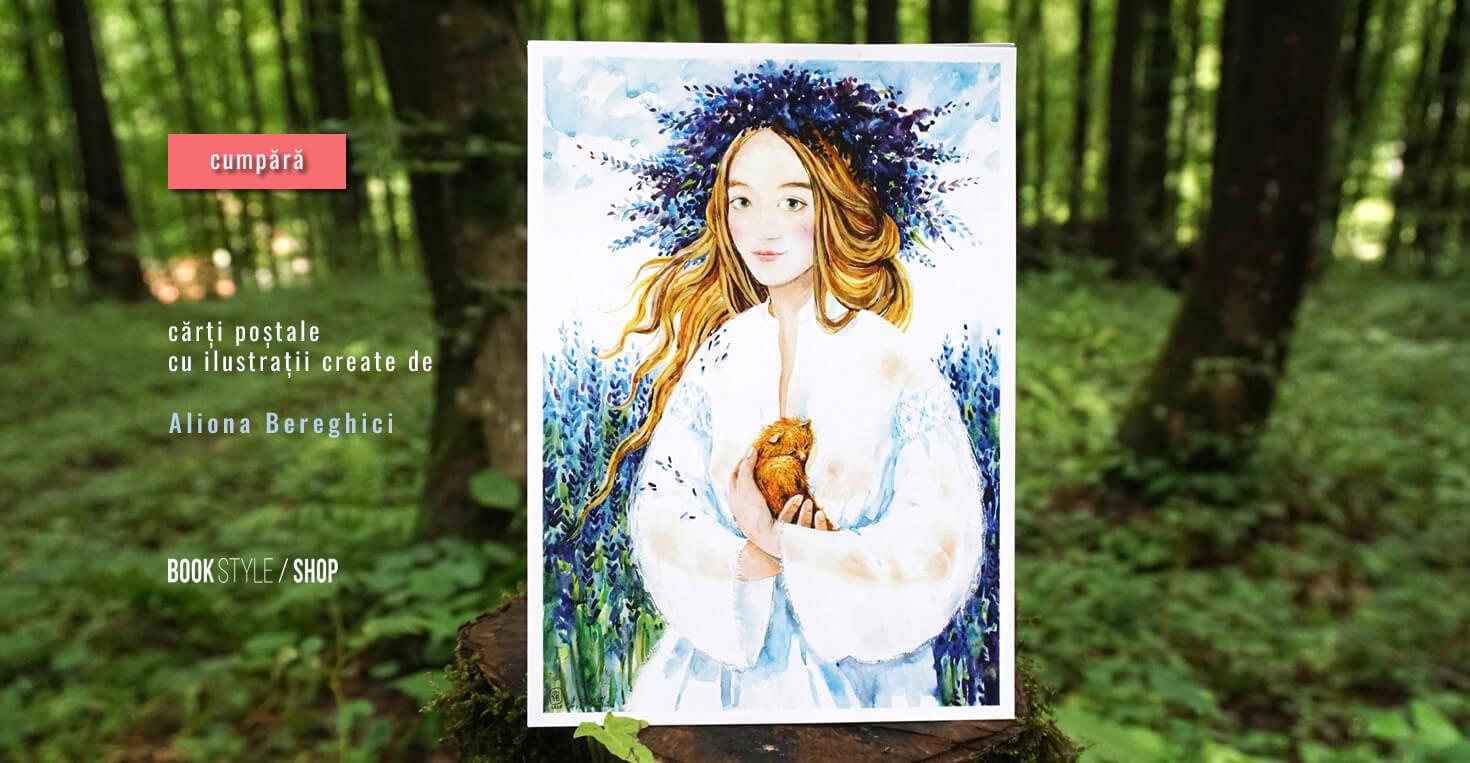 Carte poștală Solstitio - Aliona Bereghici