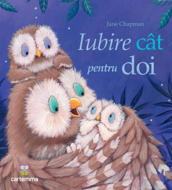 Iubire cât pentru doi, de Jane Chapman - Editura Cartemma