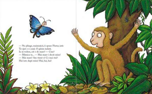Maimuțica Bramburica de Julia Donaldson și Axel Scheffler – Editura Cartea Copiilor