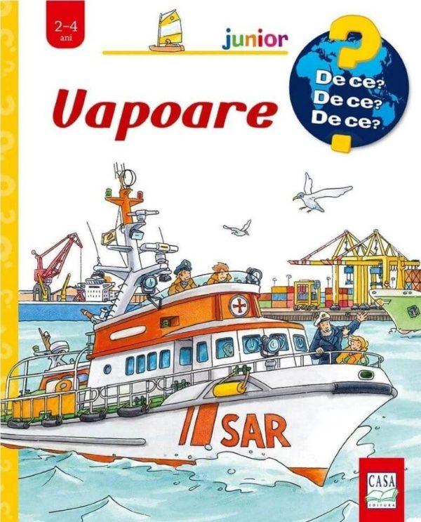 Vapoare - carte cu ferestre - Editura Casa