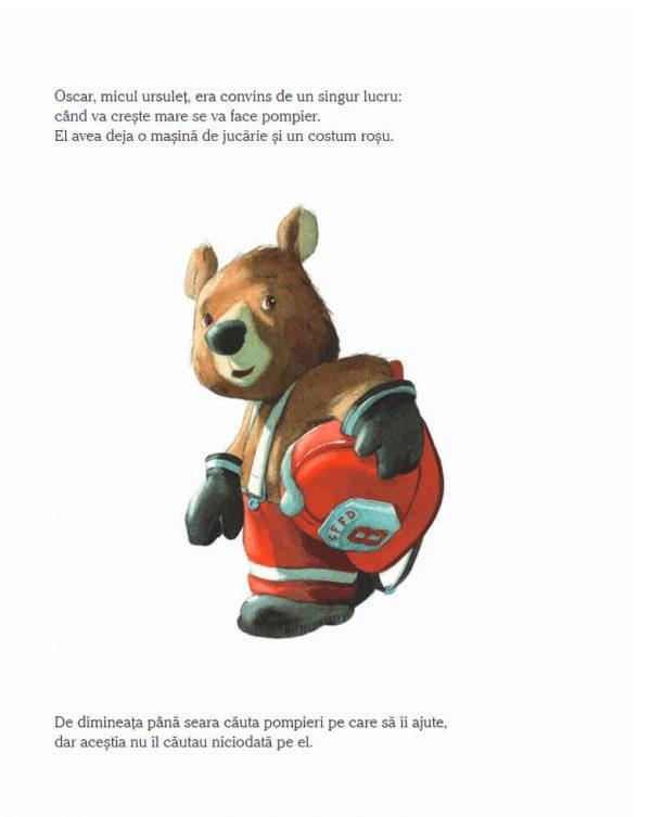 Vreau să fiu pompier, de Quentin Greban – Editura Nomina