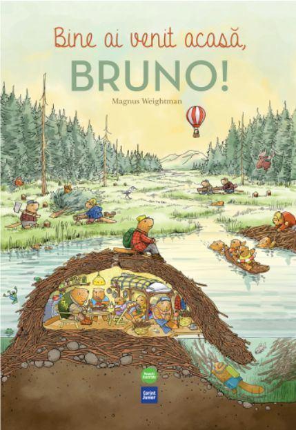 Bine ai venit acasă, Bruno! Magnus Weightman - Editura Corint