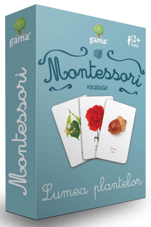 Cărți de joc Montessori - Lumea plantelor - Editura Gama