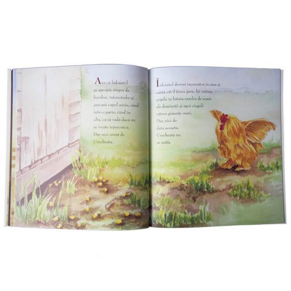 Înfoiatul, cocoșul auriu – Seria Povești din Valea Minunată – Editura ICAM – Helga Moser