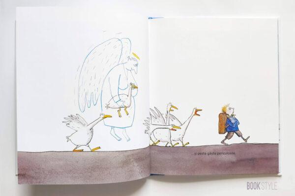 Îngerul bunicului, de Jutta Bauer – Editura Frontiera