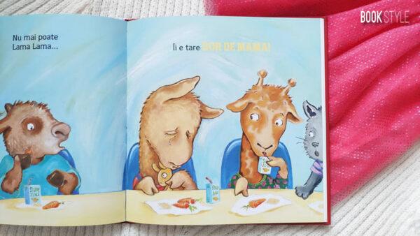 Lama Lama de Crăciun, de Anna Dewdney – Editura Nemi