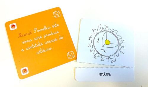 Lecții Montessori – Carduri educative astronomie – Tiki-Tan Games Book Style Shop