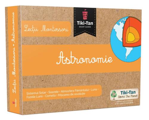 Lecții Montessori – Carduri educative astronomie - Tiki-Tan Games Book Style Shop