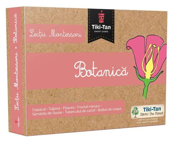 Lecții Montessori - Botanică - cutie Tiki-Tan - Smart Games