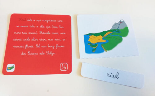 Lecții Montessori – Carduri geografie – Tiki-Tan Games