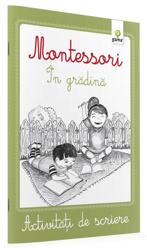 Activități de scriere - Montessori - În grădină