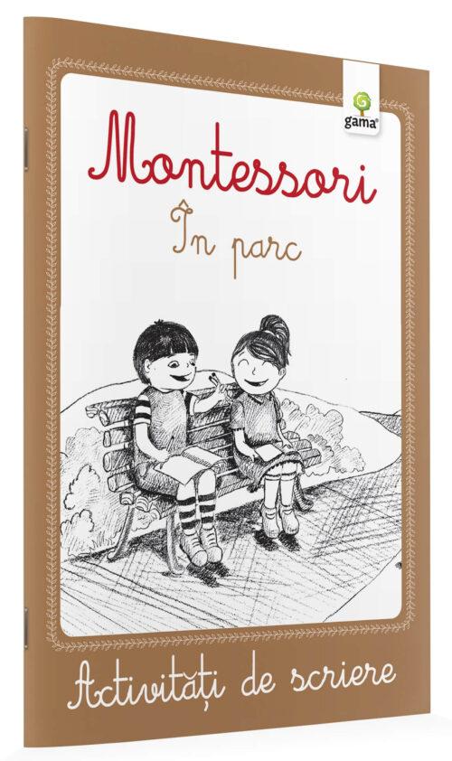 Activități de scriere - Montessori - În parc
