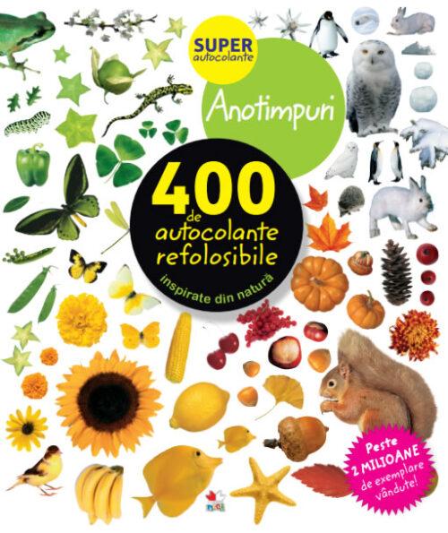 Anotimpuri. 400 de autocolante refolosibile - Editura Litera