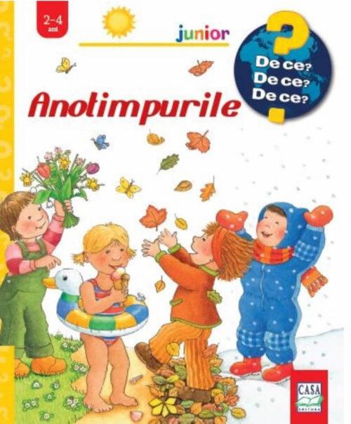 Anotimpurile - Colecția De Ce 2-4 ani - Carte ferestre - Constanza Droop - Editura Casa