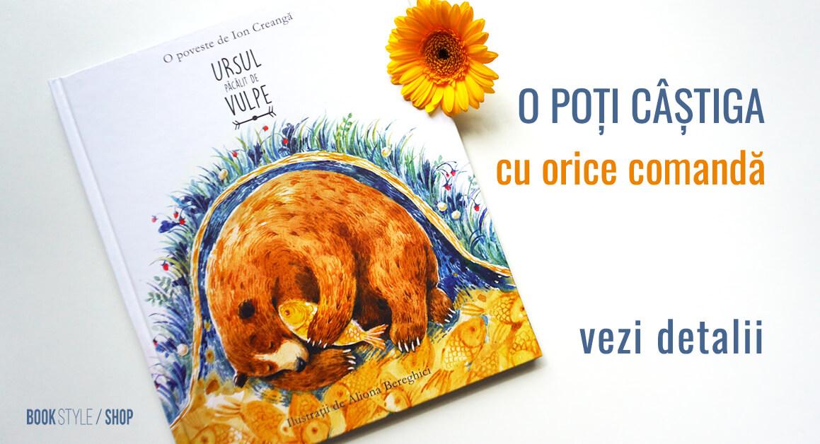 Concurs carte Ursul păcălit de vulpe - Ion Creanga - Aliona Bereghici