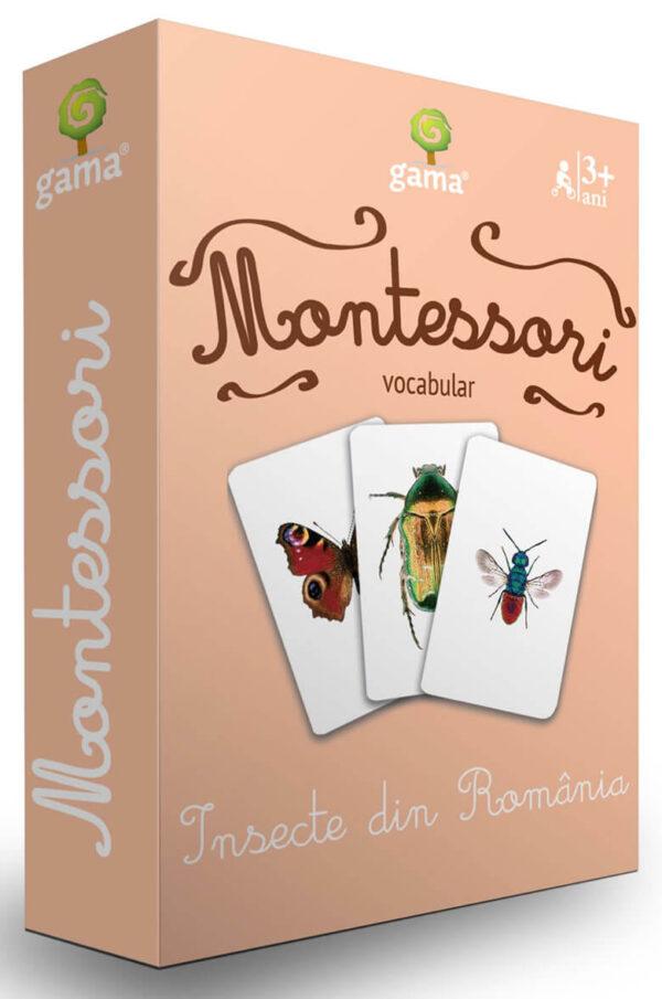 Cărți de joc Montessori – Insecte din România