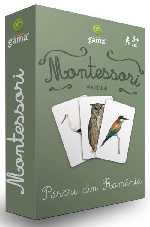 Cărți de joc Montessori – Păsări din România