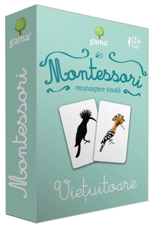 Cărți de joc Montessori – Viețuitoare