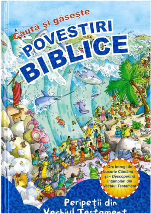 Carte de cautare- Seria de povestiri biblice Caută si Găseşte - Vechiul Testament