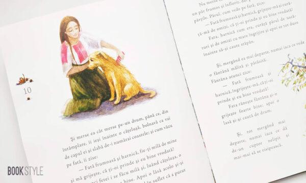 Fata babei și fata moșneagului, de Ion Creangă și Aliona Bereghici – Editura Lexon