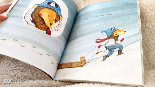 Leul si pasărea, de Marianne Dubuc – Editura Pandora M