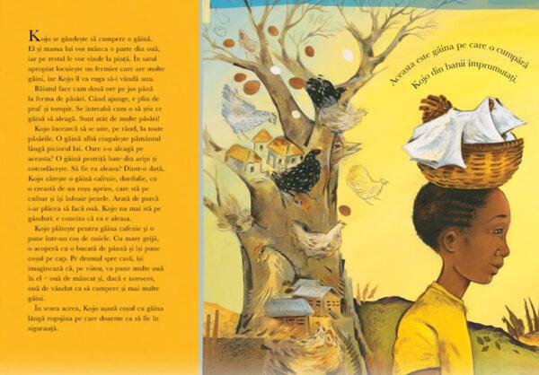 O singură găină, de Katie Smith Milway și Eugenie Fernandes – Editura Cartemma