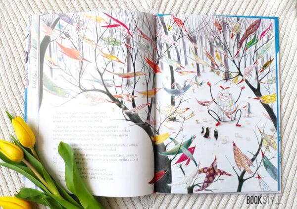 Povestea unei colivii, de Rodoula Pappa și Celia Chauffey – Editura Cartemma
