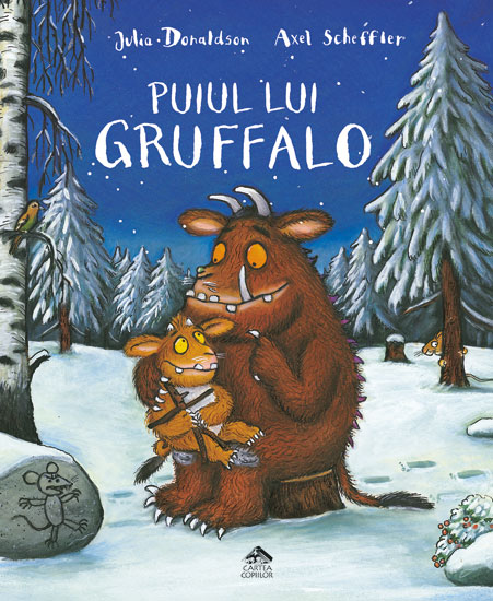 Puiul lui Gruffalo, de Julia Donaldson și Axel Scheffler - Editura Cartea Copiilor