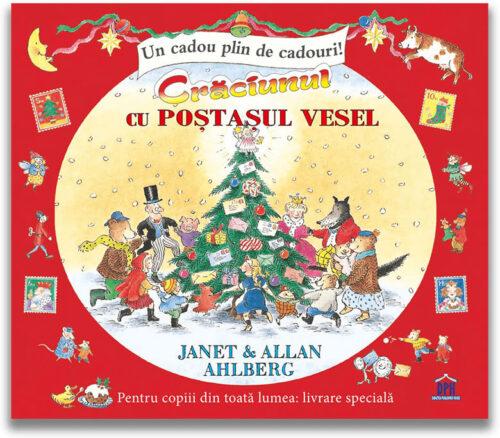 Crăciunul cu Poștașul vesel, de Janet & Allan Ahlberg - Carte cu scrisori - Editura DPH