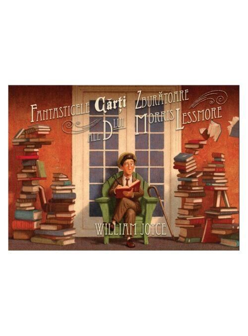 Fantasticele cărți zburătoare ale dlui Morris Lessmore - William Joyce - Vlad și cartea cu genius