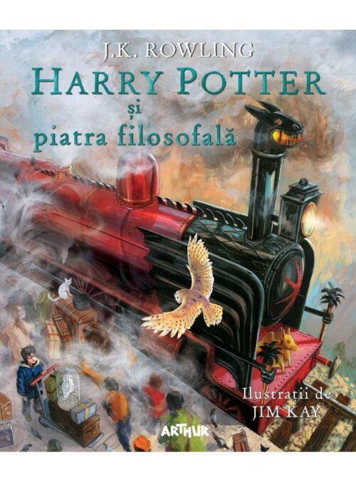 Harry Potter și piatra filosofală (ediția ilustrată - română) - Ed. Arthur