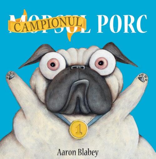Campionul Porc - Aaron Blabey -Vlad și cartea cu genius