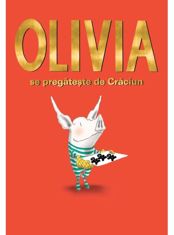 Olivia se pregătește de Crăciun - Ian Falconer - Vlad si cartea cu genius