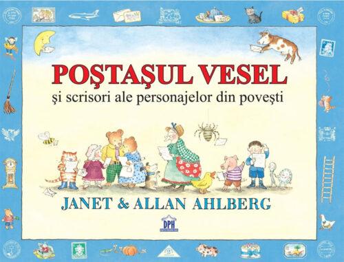 Poștașul vesel - carte cu scrisori - Janet & Allan Ahlberg - Editura DPH
