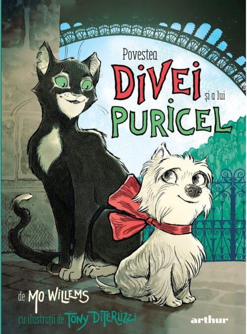 Povestea Divei și a lui Puricel - Mo Willems - Editura Arthur